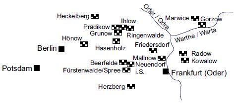 Kirchen mit Schachbrettsteinen der Oder-Warthe-Region