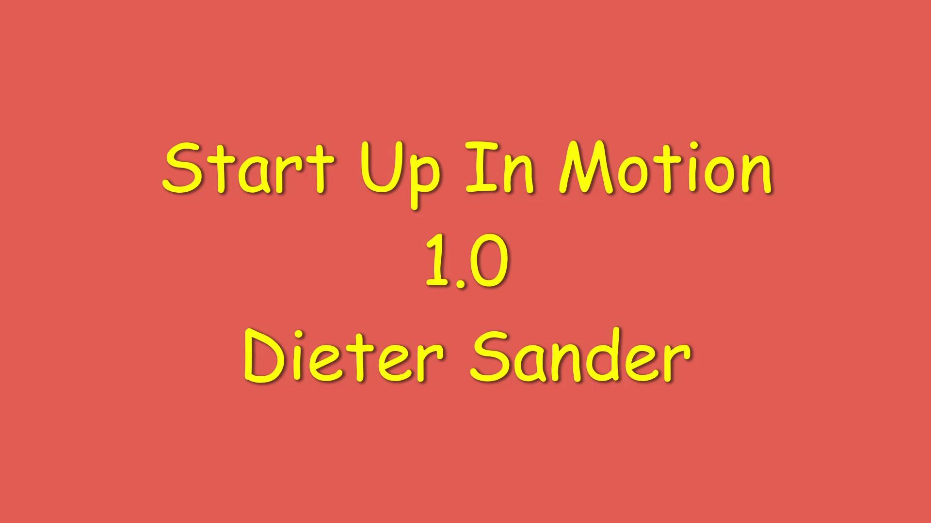 Start Up In Motion 1.0