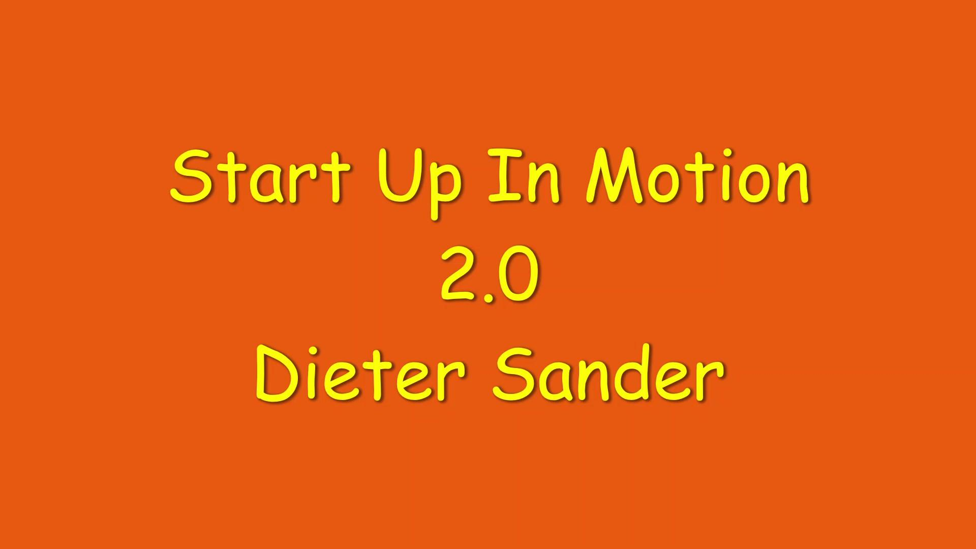 Start Up In Motion 2.0