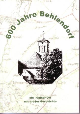 Titelseite600 Jahre Behlendorf