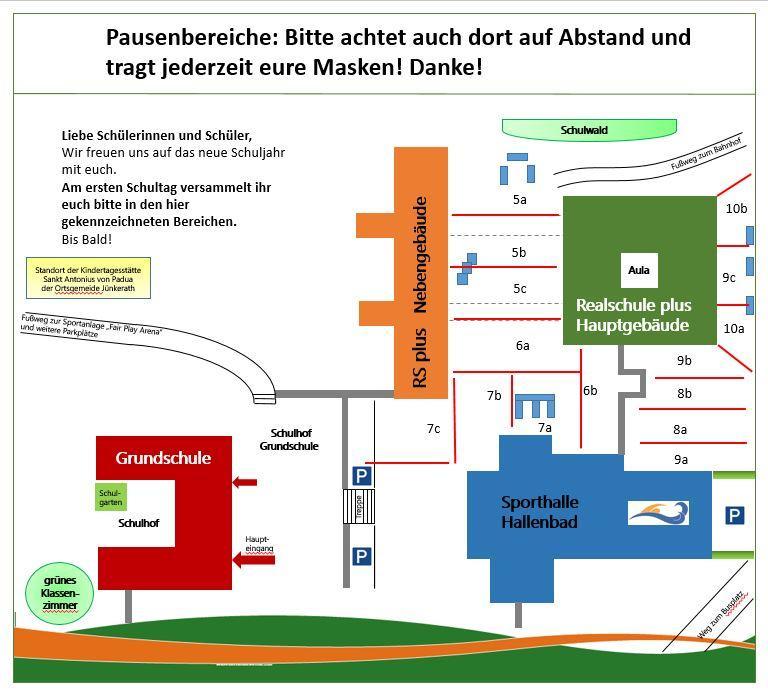 Schulhofplan 2021-2022
