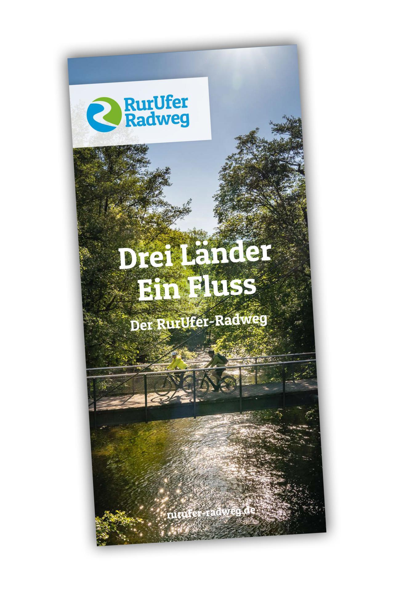 RurUfer-Radweg Karte