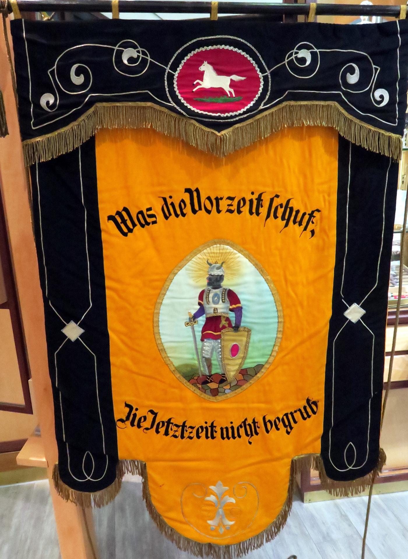 Fahne Moritzstrasse