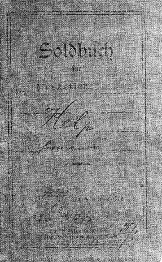 Soldbuch Kelp
