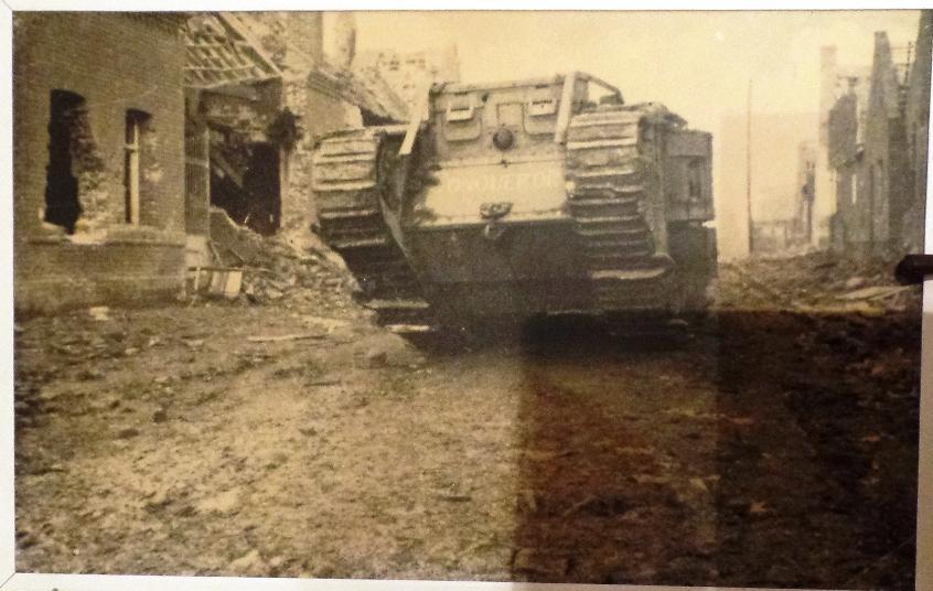 britischer Tank