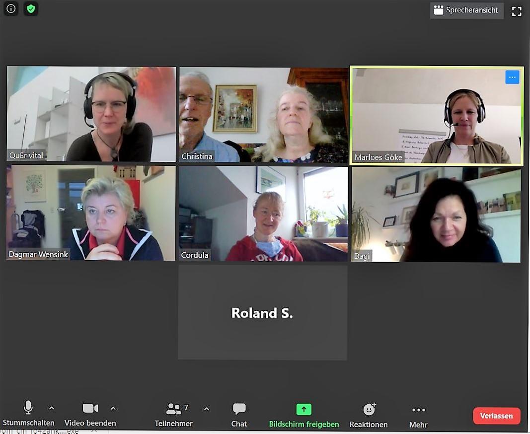 Teilnehmer Videokonferenz II