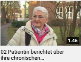 Patientin berichtet