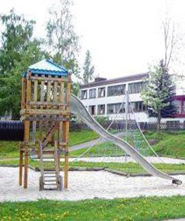 Spielplatz am Kindergarten