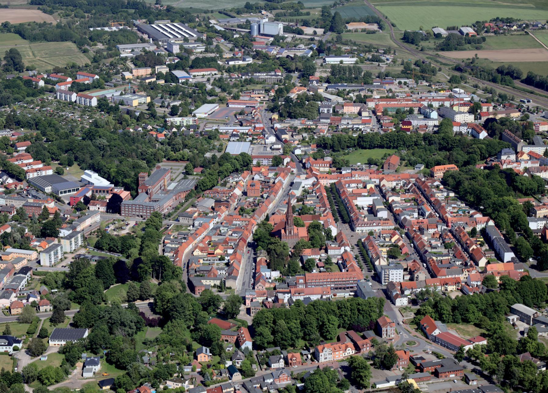 Altstadt Luftbild