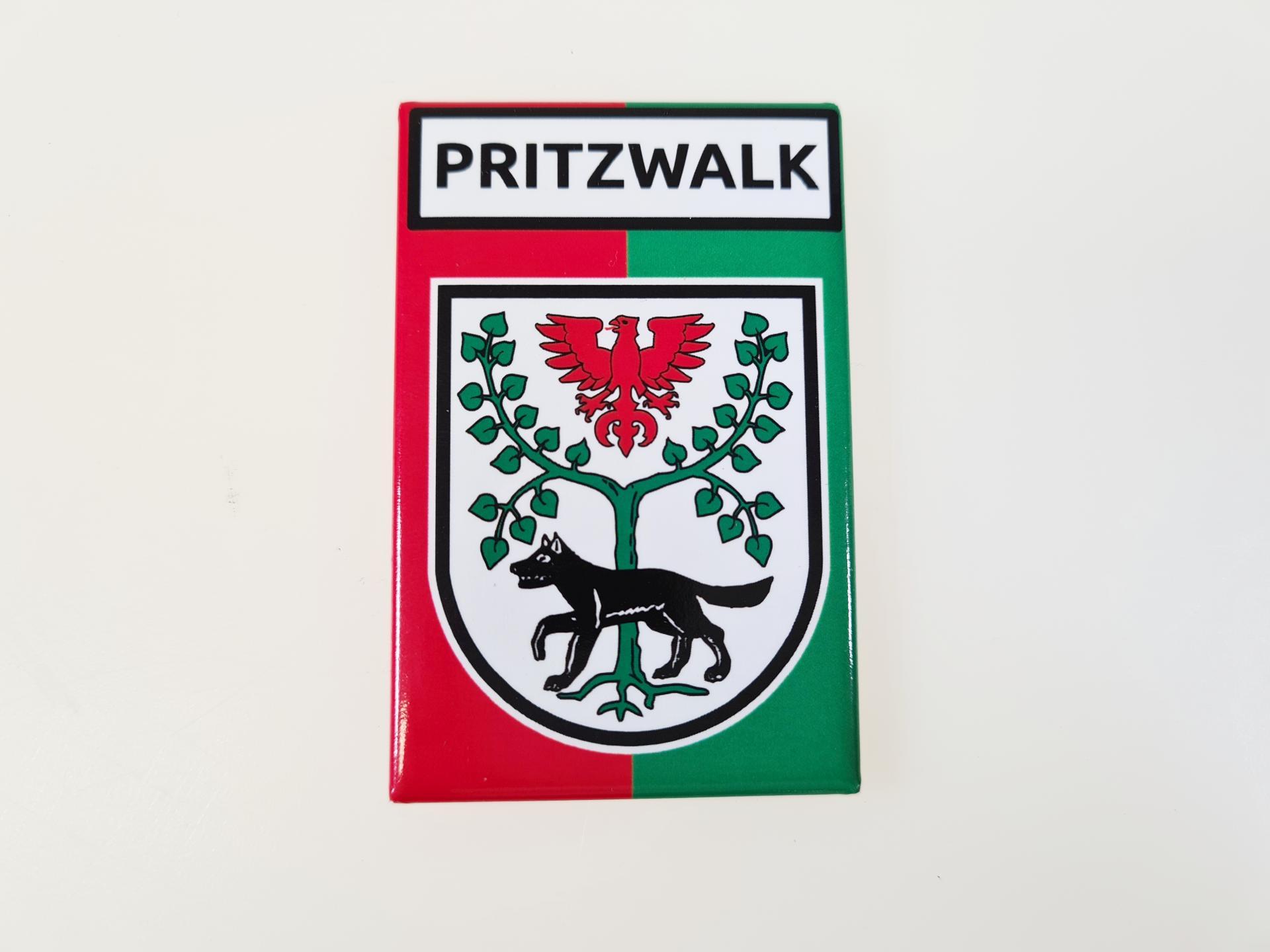 Magnet mit Wappen, Foto: Katharina Weise
