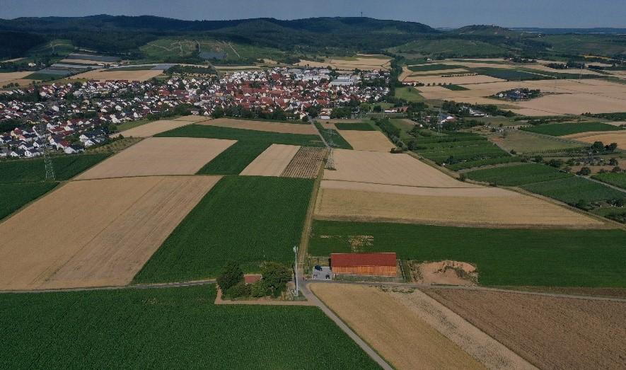 Hochbehälter Erligheim-Hofen Luftbild