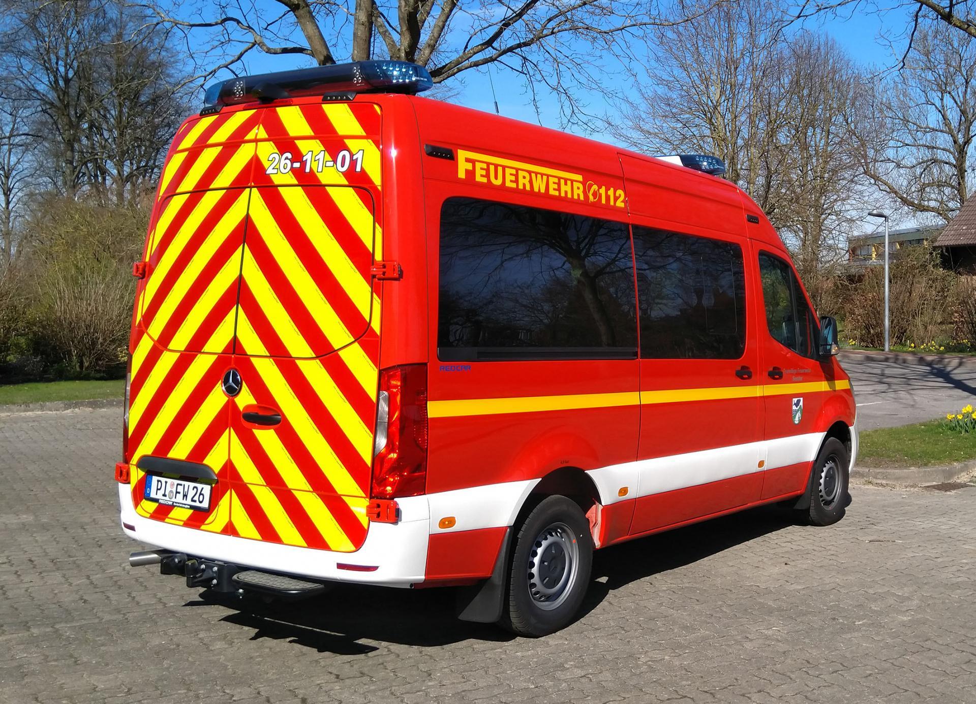 Einstzleitwagen/Mehrzweckfahrzeug, MB Sprinter, 2021