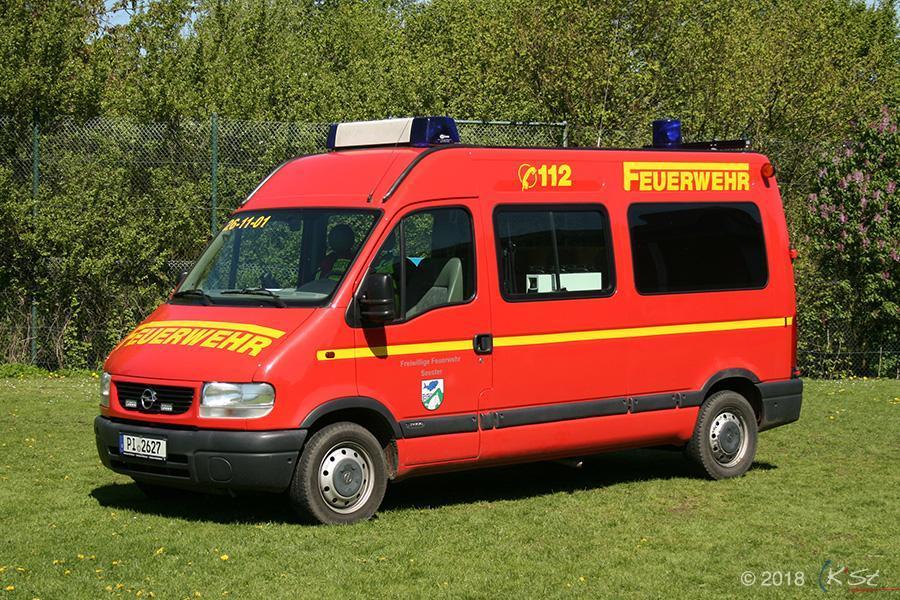 Einsatzleitwagen, ELW 1, Opel Movano, 2002/2005
