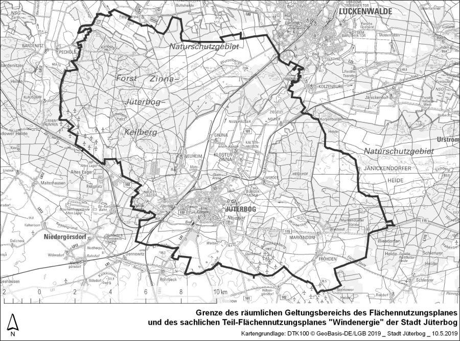 Karte Teil FNP