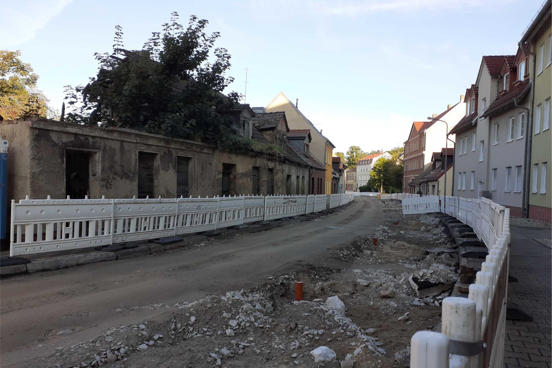 Baustellen im Stadtgebiet