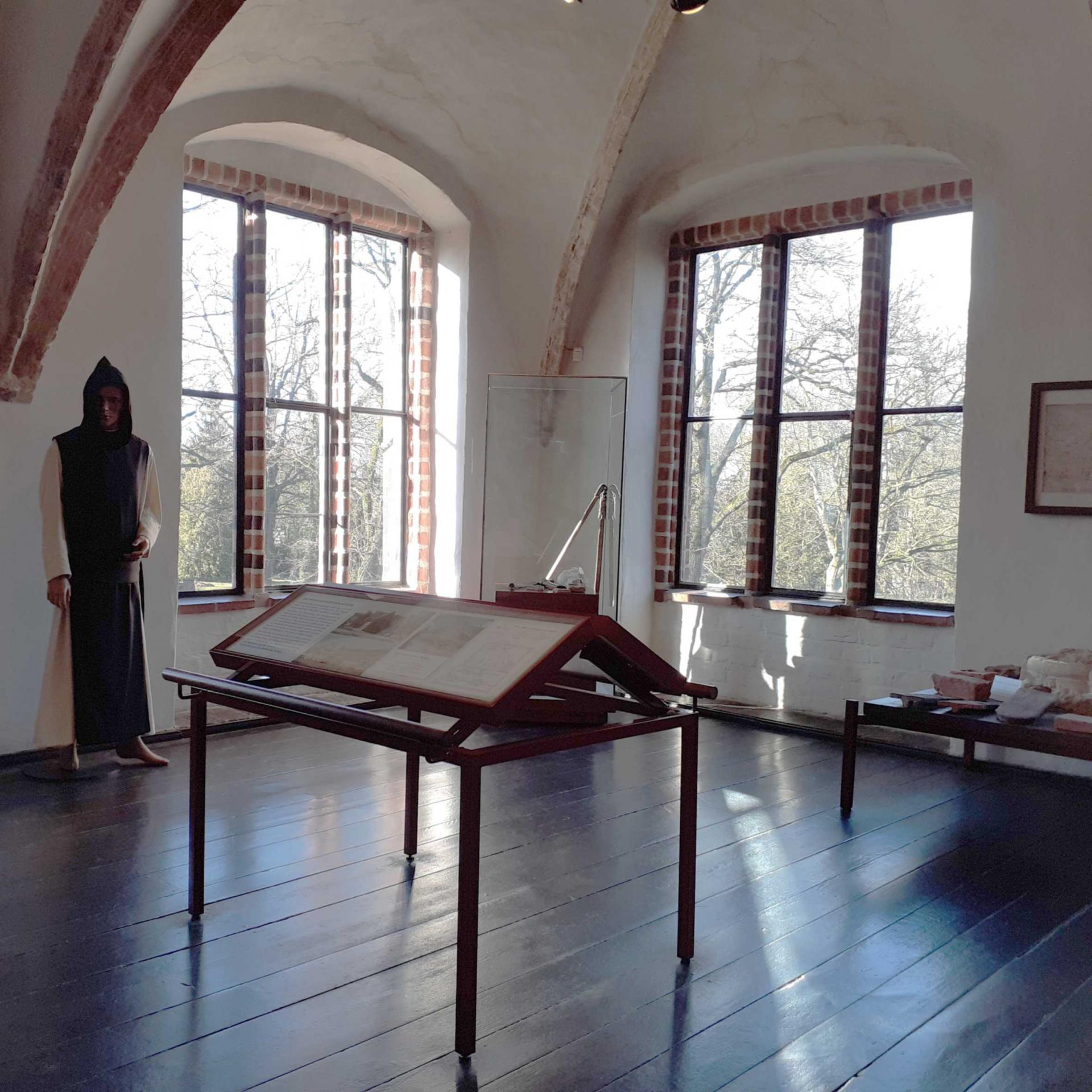 Kloster Zinna - Ausstellungsraum
