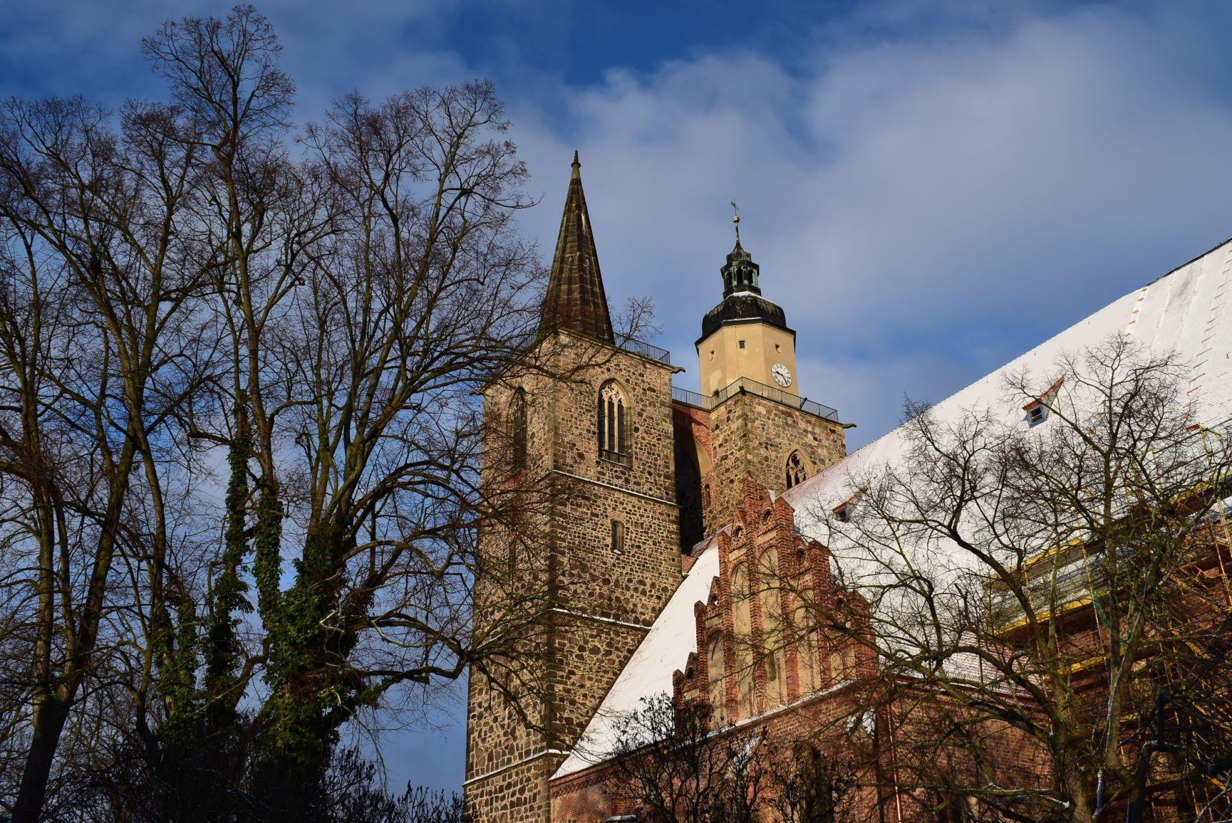 Nikolaikirche im Winter
