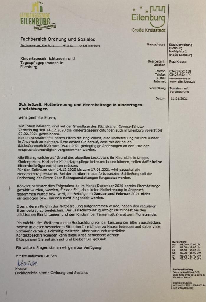 Information Stadtverwaltung