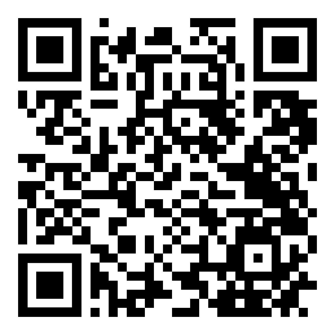 QR Code zu den in Outdooractive eingestellten Rundwegevorschlägen
