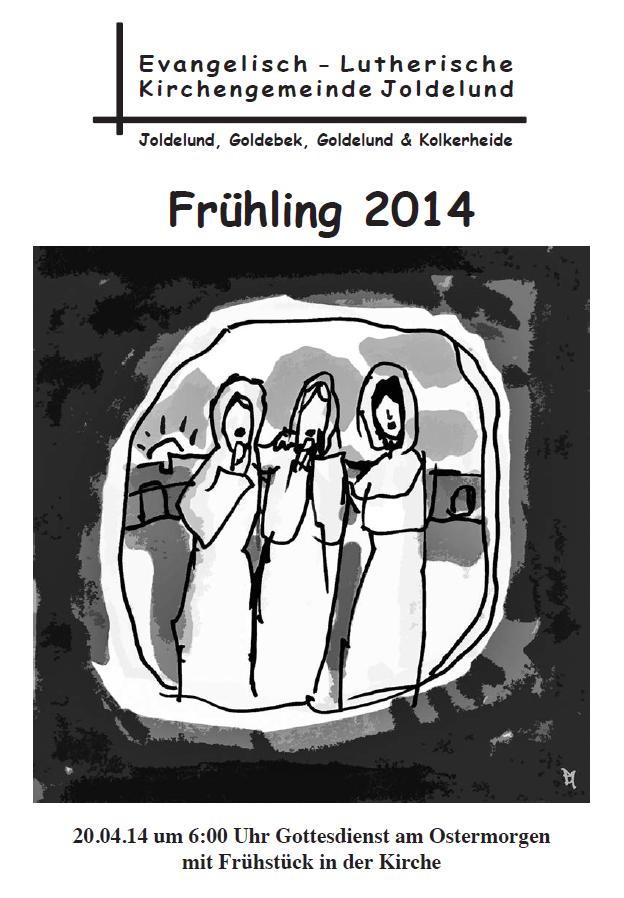 Gemeindebrief Frühling 2014