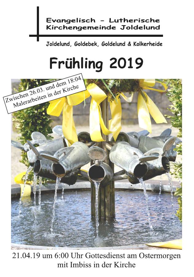Gemeindebrief Frühling 2019