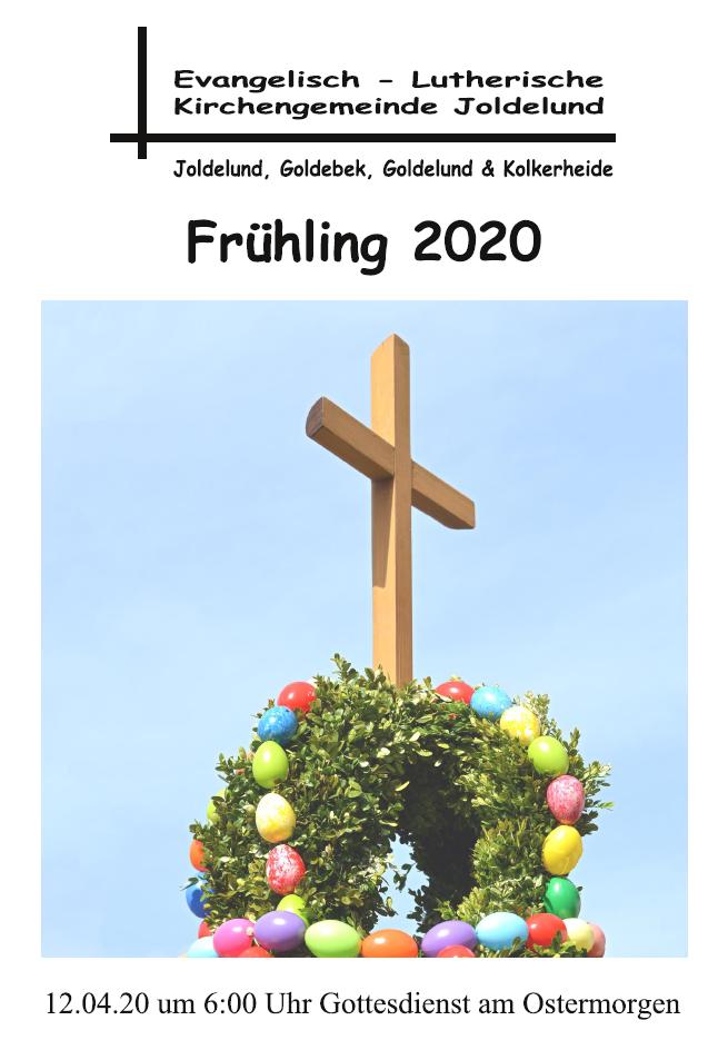 Gemeindebrief Frühling 2020