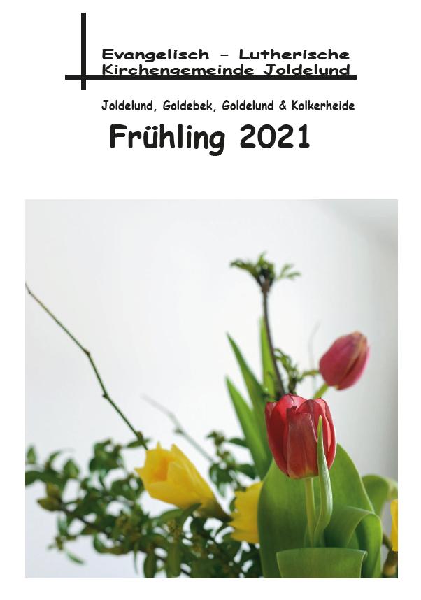 Gemeindebrief Frühling 2021