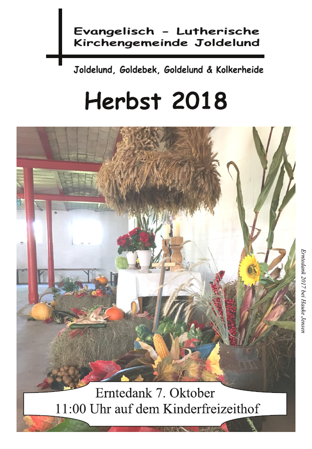 Gemeindebrief Herbst 2018