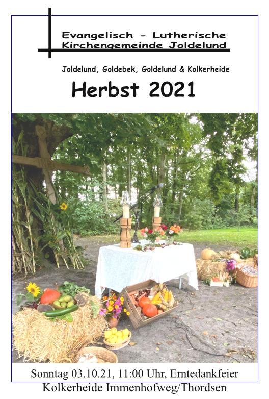 Gemeindebrief Herbst 2021