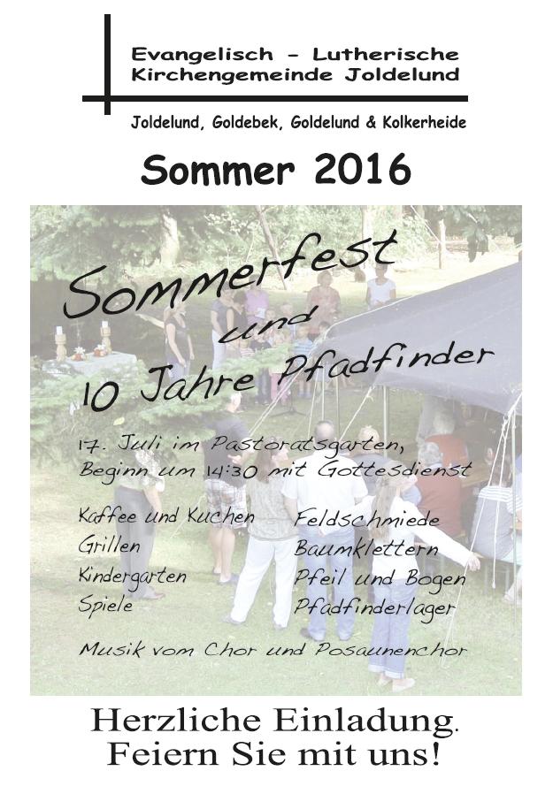 Gemeindebrief Sommer 2016