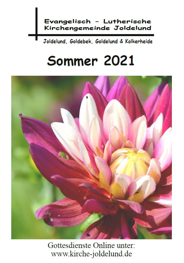 Gemeindebrief Sommer 2021