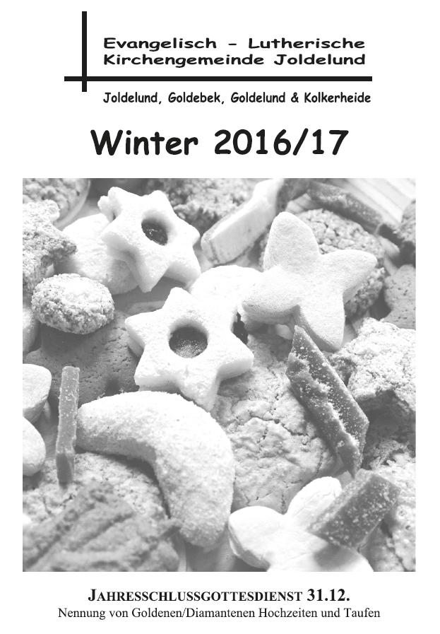 Gemeindebrief Winter 2016