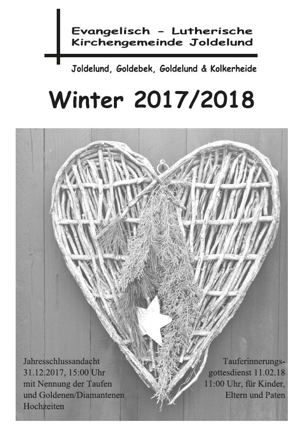 Gemeindebrief Winter 2017