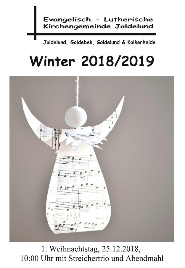 Gemeindebrief Winter 2018