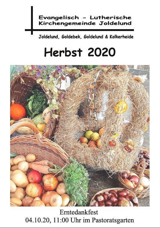 Gemeindebrief Herbst 2020