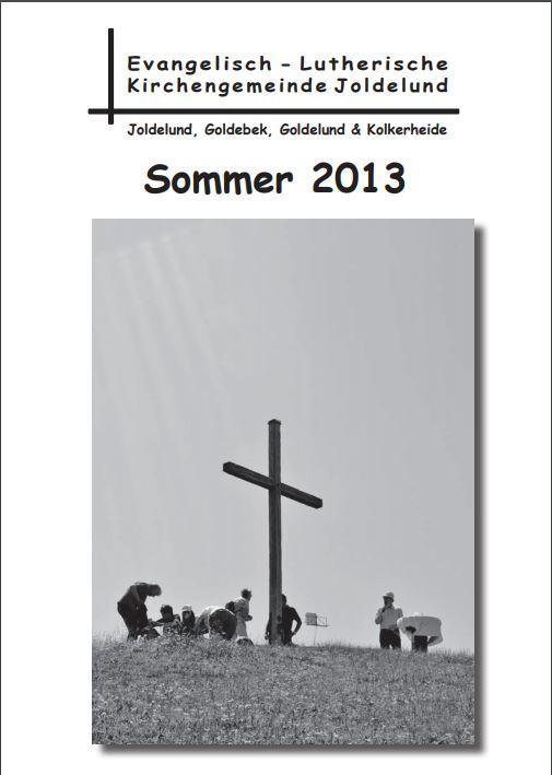 Gemeindebrief Sommer 2013