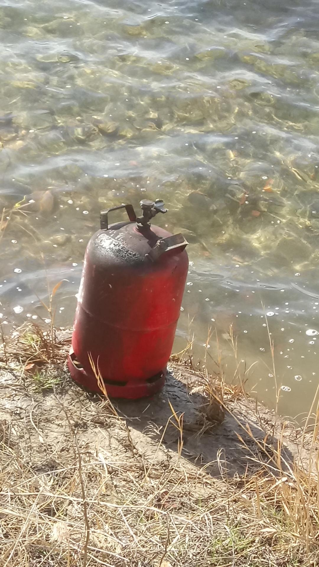 Schachtsee Gasflasche 2