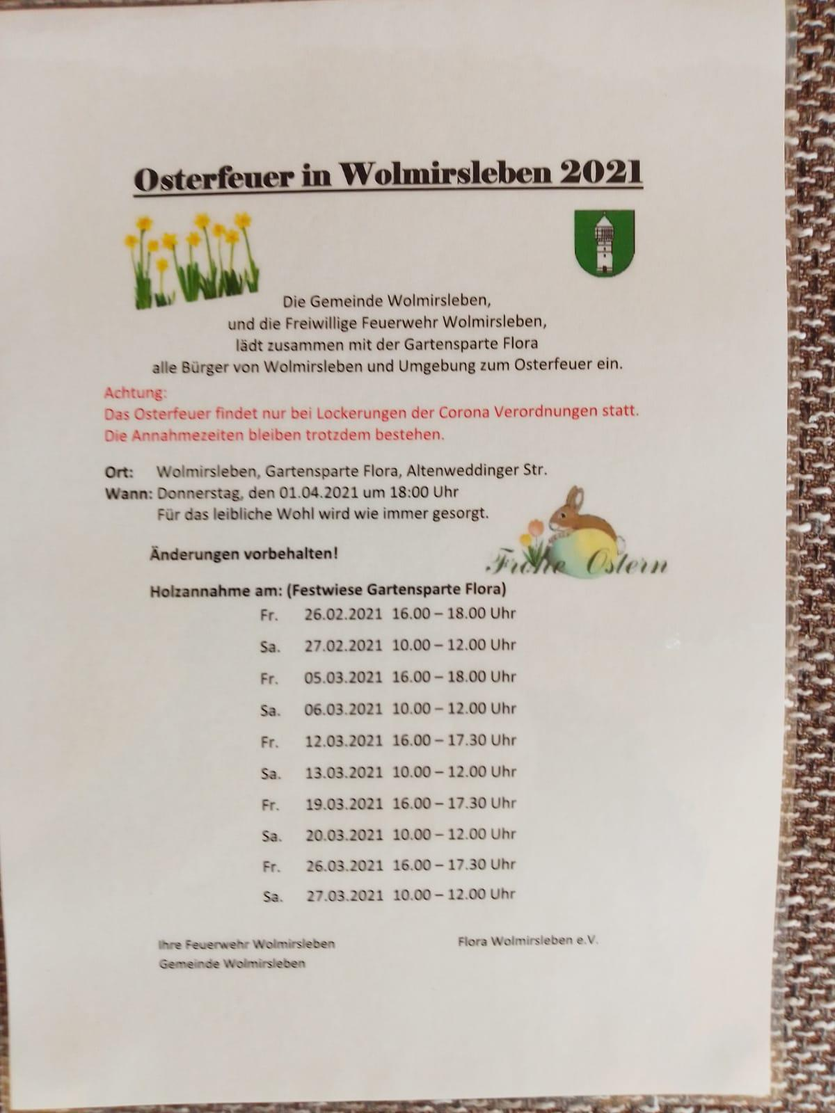 Osterfeuer2021