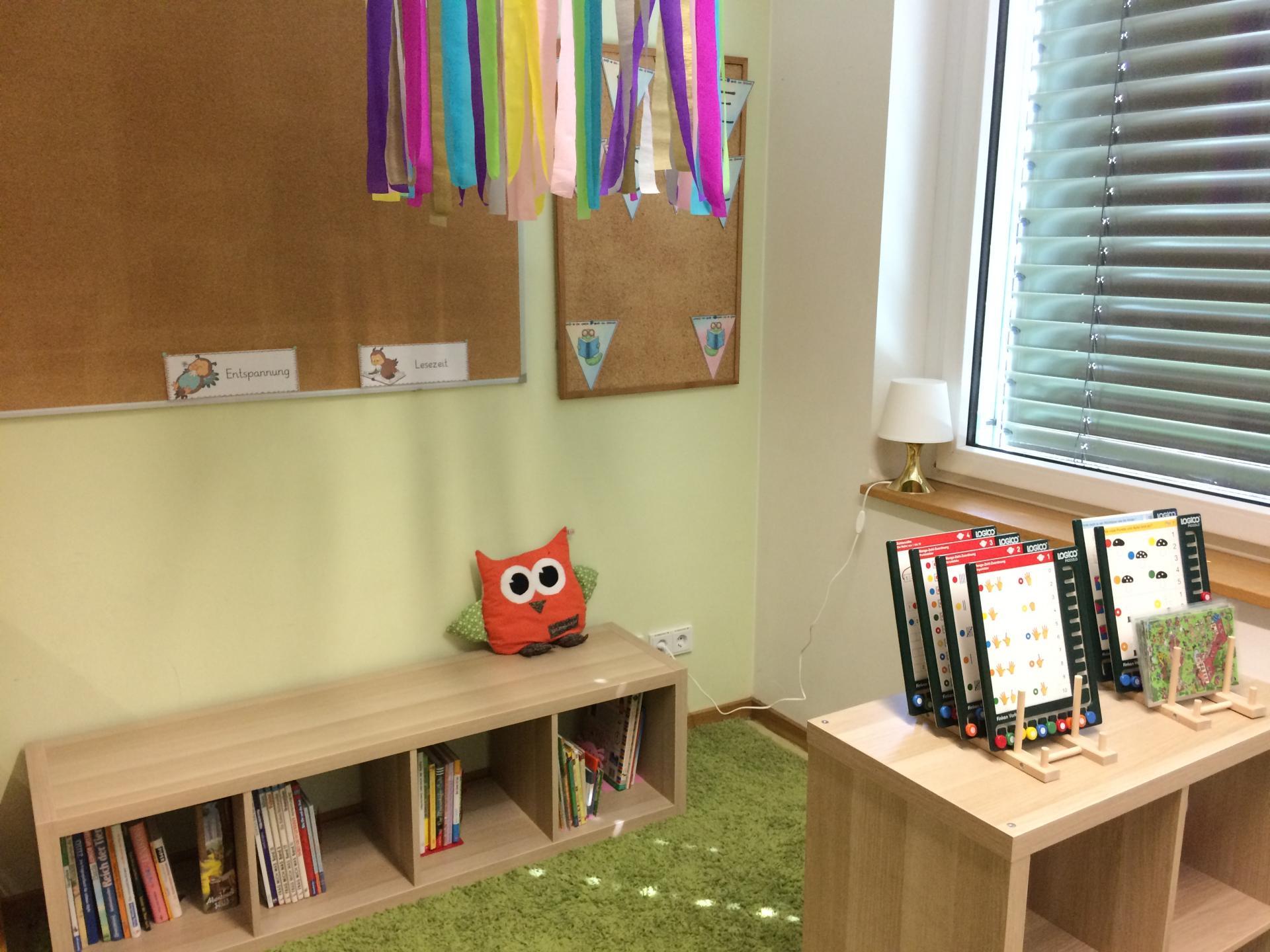 Leseecke Klassenraum