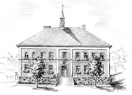Rathaus damals