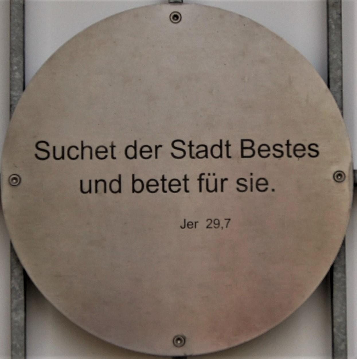 Spruch Tor Jer 29,7