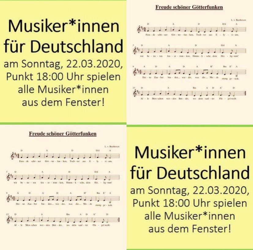 Musiker für Deutschland