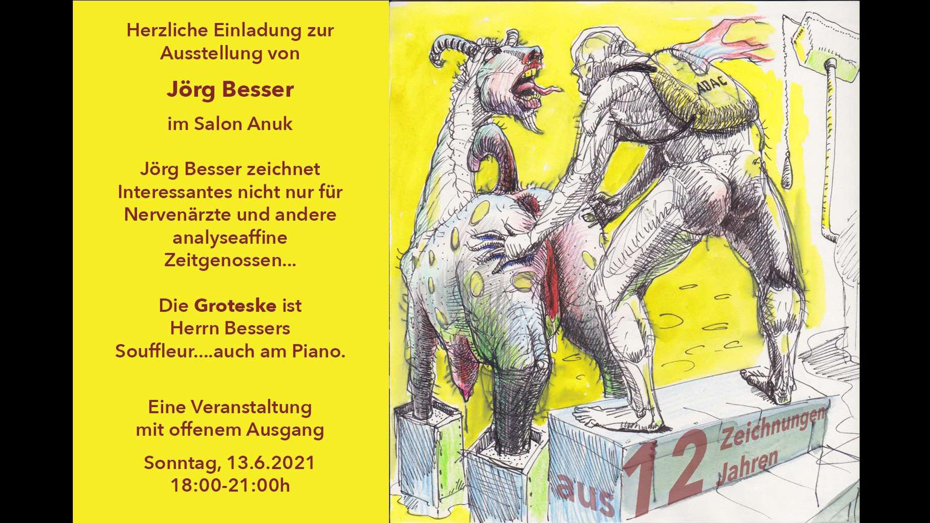 JÖRG BESSER 12 Zeichnungen aus 12 Jahren