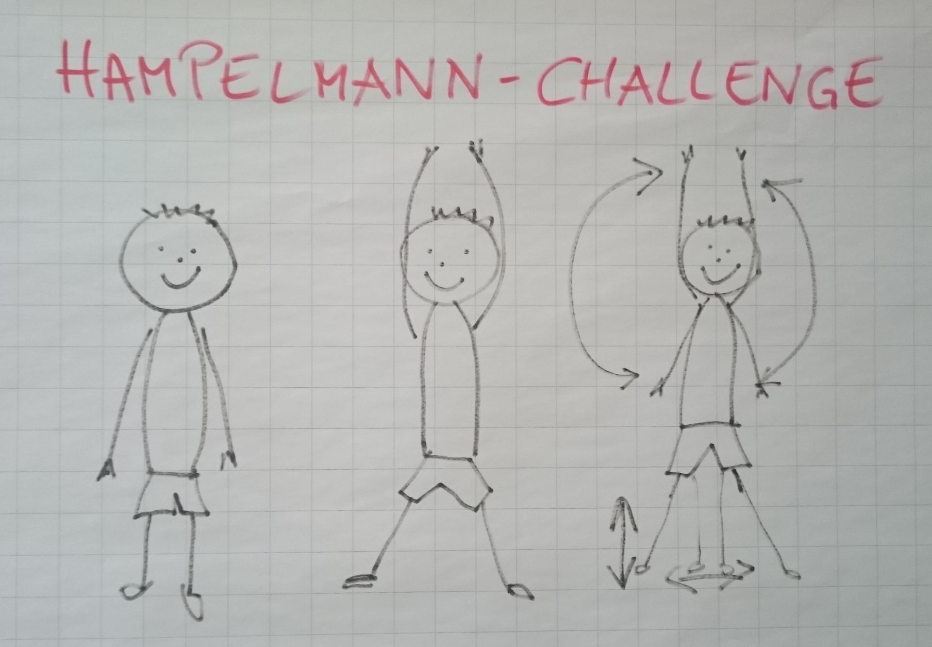 Hampelmann-Challenge