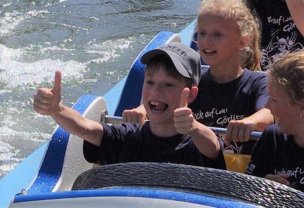 Sponsoren des SV Lok sorgen für begeisterte Kinder!