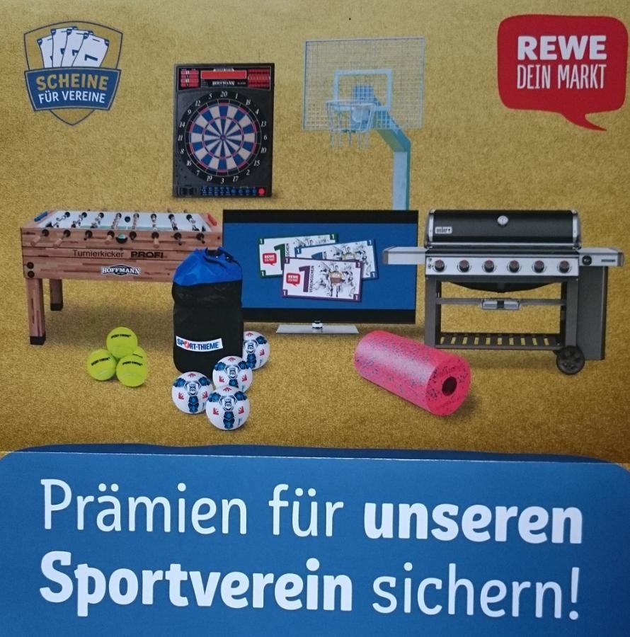 """REWE """"Scheine für Vereine"""""""