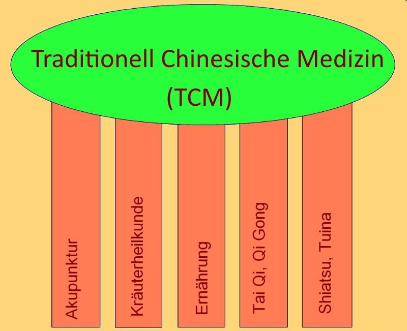 5 Säulen der TCM