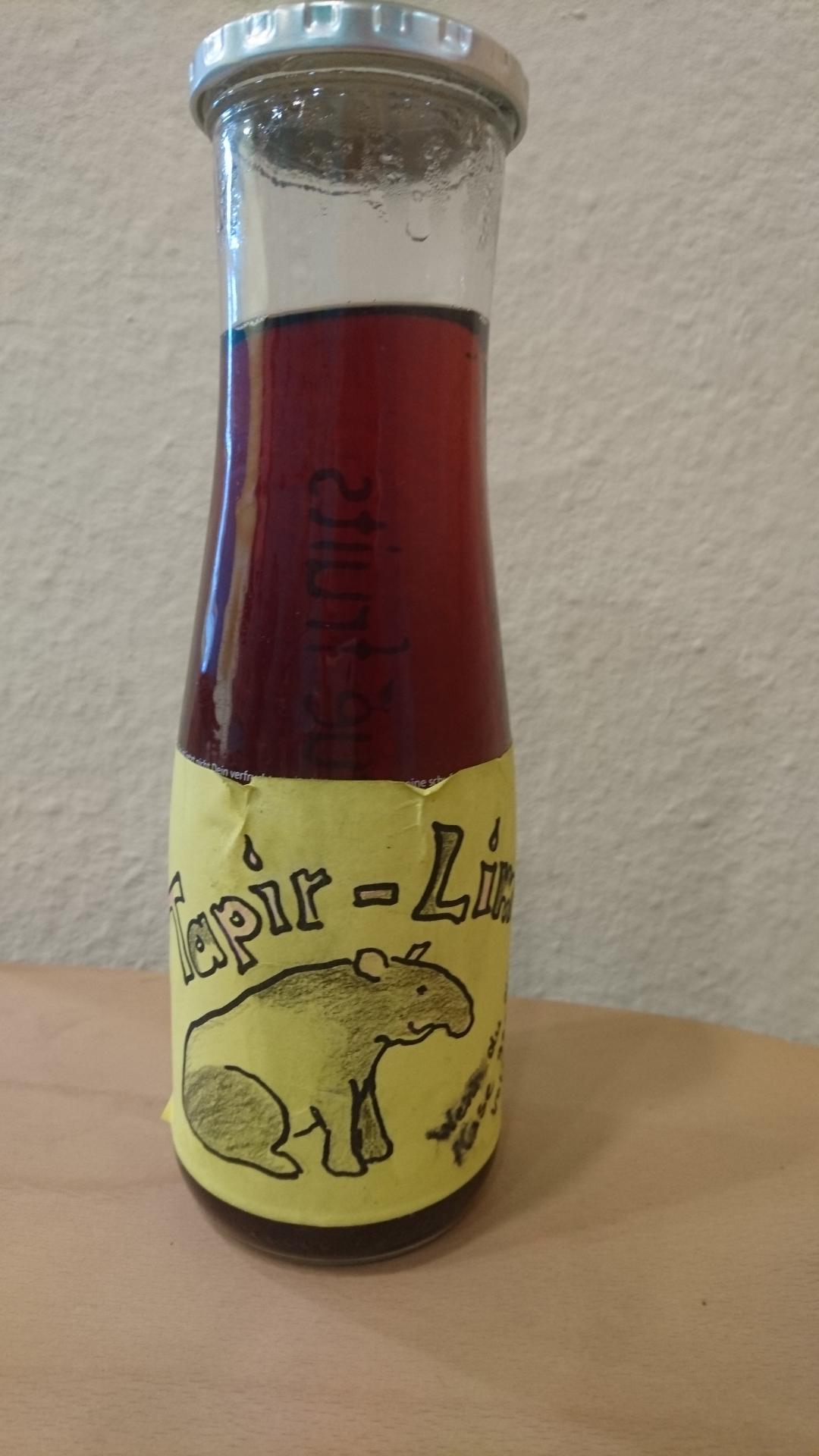 Flasche Tapir Limo