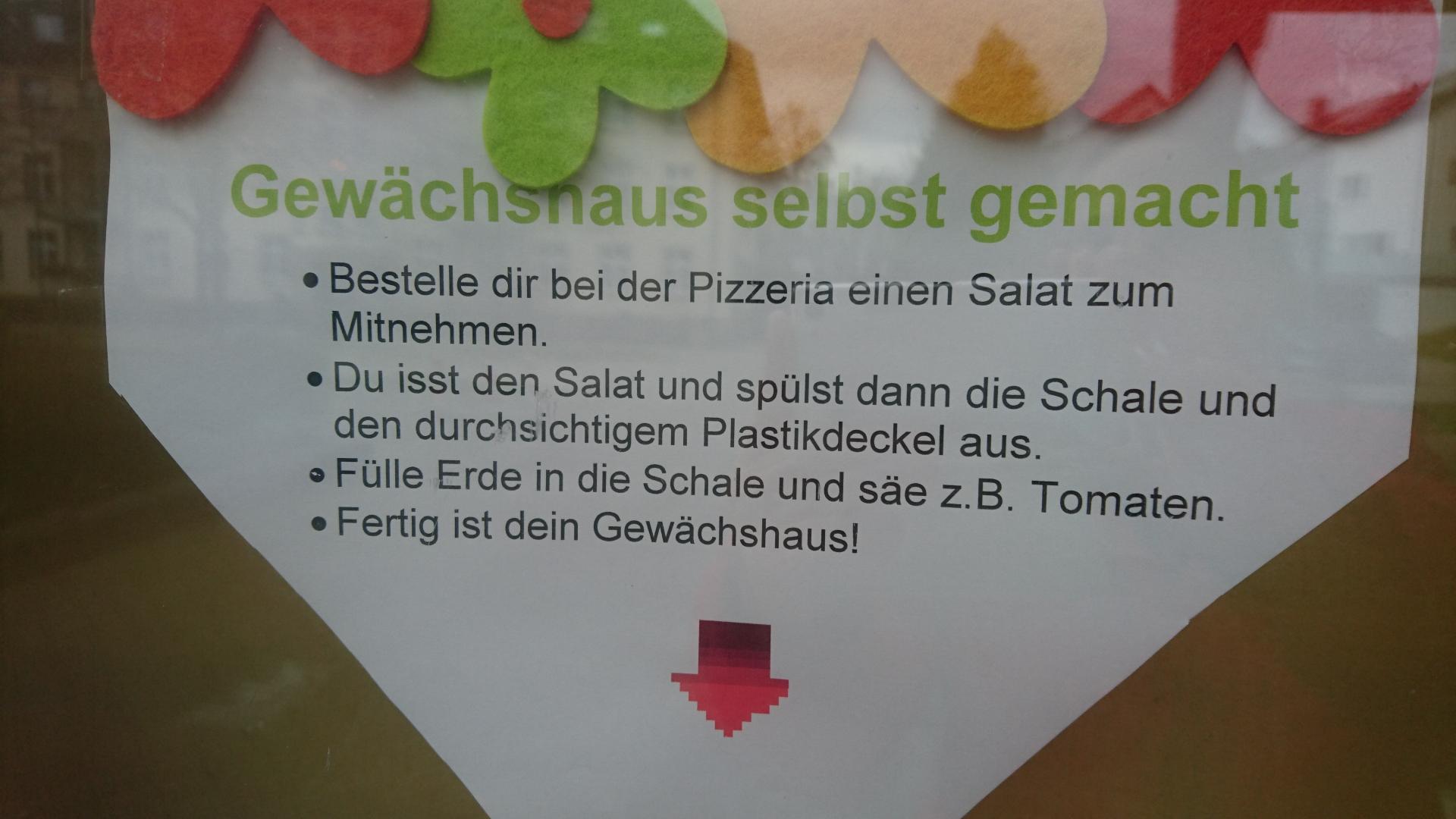 Gewächshaus Info