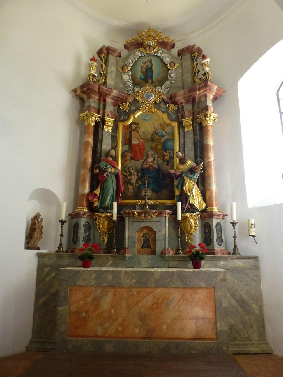 Altar Breitensteinkapelle © Verena Frauenknecht